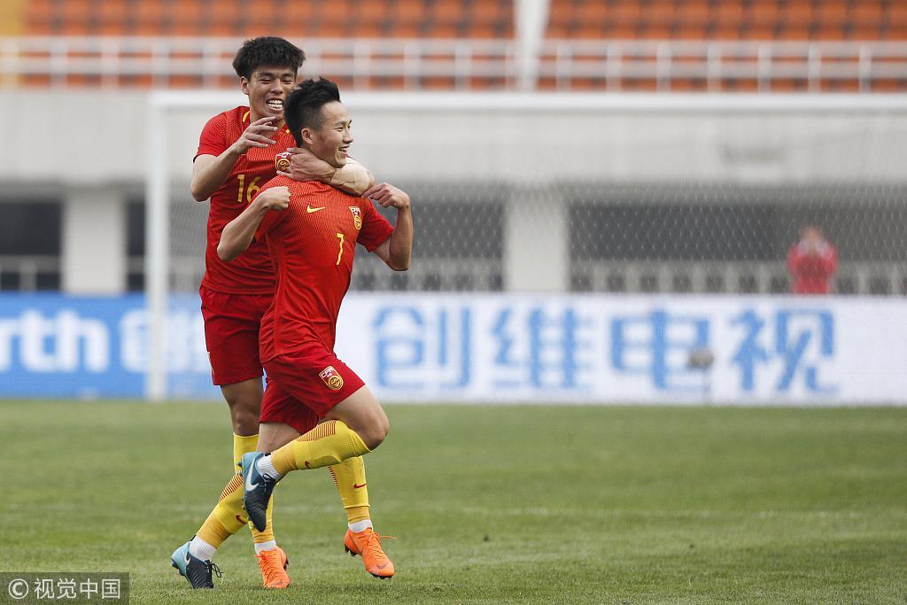 热身-姚均晟世界波张玉宁失点 U23国足1-1叙利亚