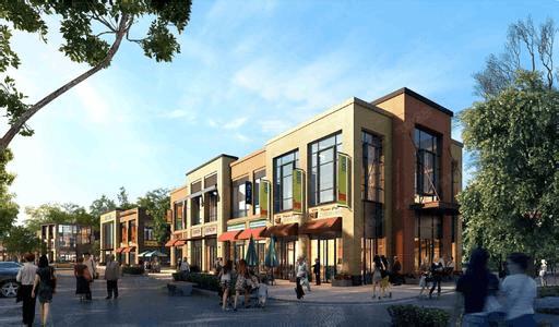 社区商业蓬勃发展 新江与城全资源临街铺备受追捧