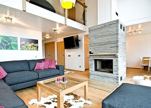 瑞典原木风LOFT公寓