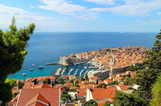 地中海气候下的巴尔干半岛