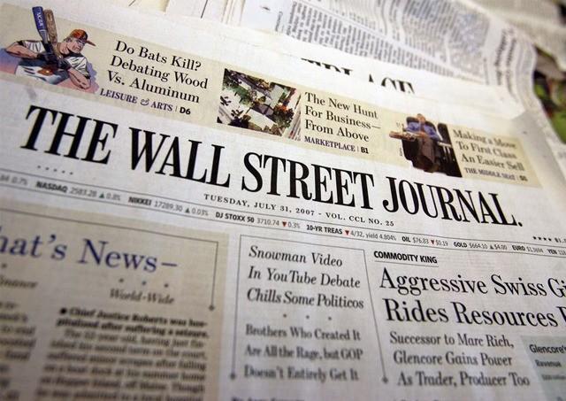 美国华尔街日报报道失实 致动视暴雪股价暴跌