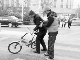 渑池县环境保护局:志愿服务倡导文明出行