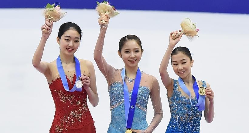 亚冬会花滑女子单人滑李子君摘银 韩国夺冠