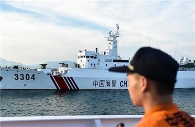 中国海警参加中越海警海上联合检查