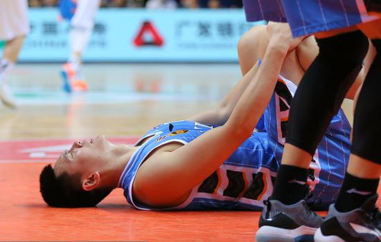 朱彦西因脚伤确定缺席京辽战首场。