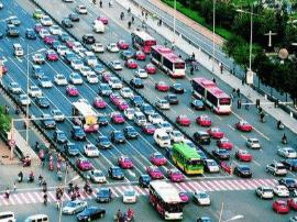 交警公布太原市区拥堵路段 以提供出行参考