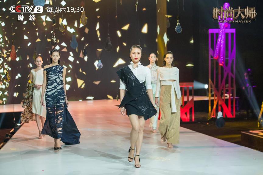 """《时尚大师》设计师跨界而来惊艳演绎""""中国手艺"""""""
