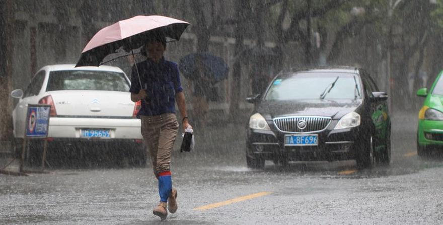 暴雨来袭 合肥局地降水或超120毫米