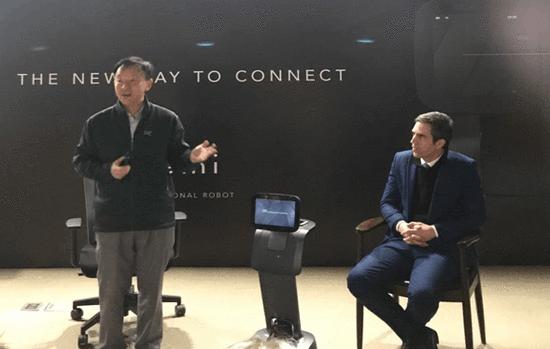 Roboteam展示服务机器人TEMI 本土化定制布局中国市场