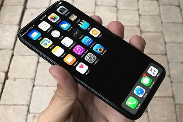 iPhone 8原型机曝光:竖向双摄