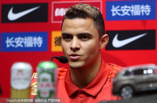 莫雷诺:我非常渴望为国进球 期待能与王大雷对决
