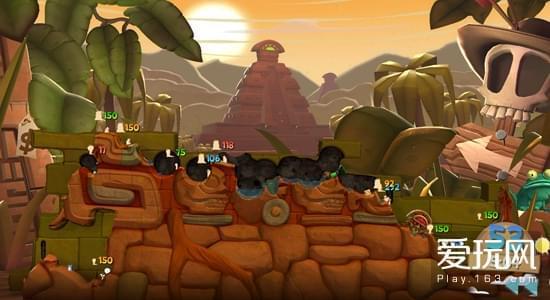 游戏史上的今天:虫子归来《百战天虫:部落战争》