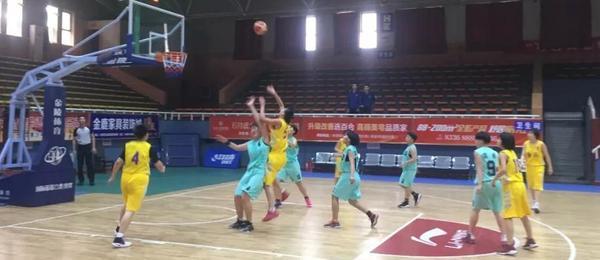 省运会女子篮球预赛精彩瞬间