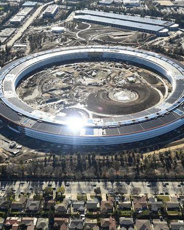 不只有一个太空船,苹果硅谷大建办公区