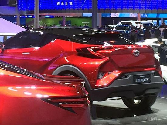 2017上海车展:丰田丰巢WAY概念车亮相