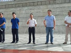 河津城管办召开市容环境百日大整治环卫工作动员会
