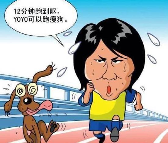 12分钟跑是那个年代中国球员的噩梦