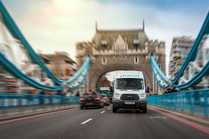 定制路线有wifi 福特在伦敦推出Chariot班车服务