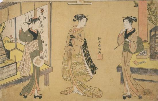 古代舞女简笔画