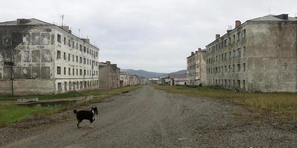 苏联时期的幽灵小镇:犹如世界末日场景