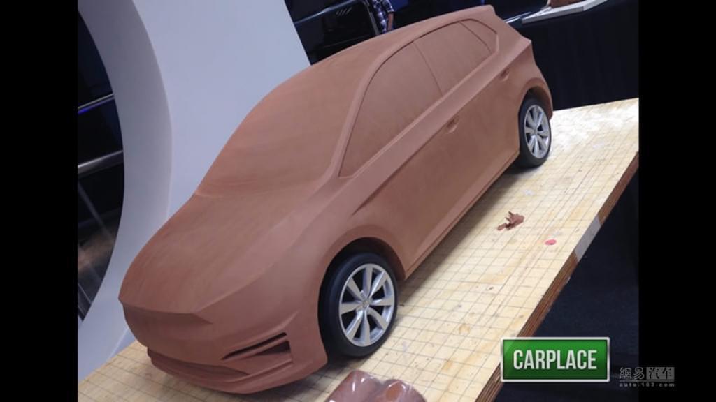 油泥模型 仅供参考 全新POLO或明年亮相
