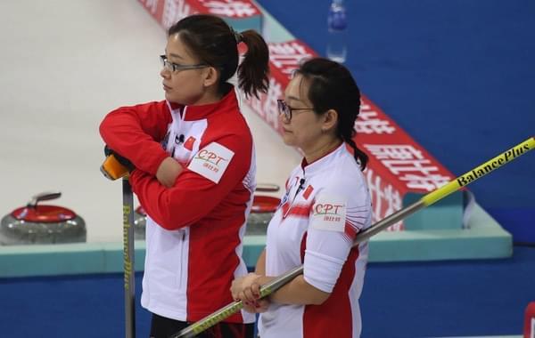 女子冰壶世锦赛中国4-6俄罗斯