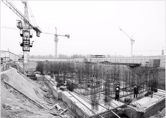 灵宝市:城中村改造项目加紧施工