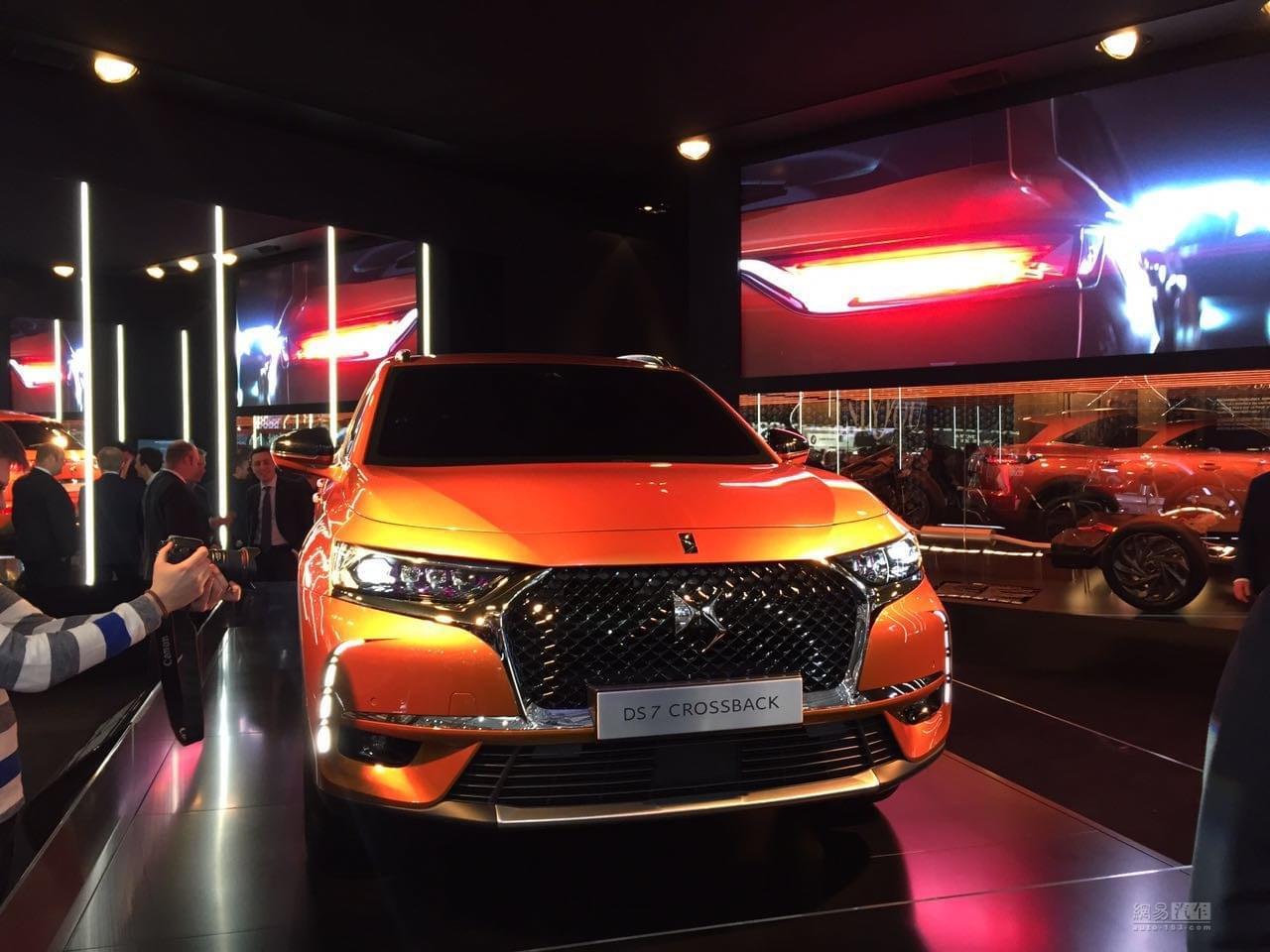2017日内瓦车展:DS7 Crossback亮相