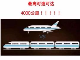 """中国将研发""""高速飞行列车"""" 泰州到北京仅20分钟"""