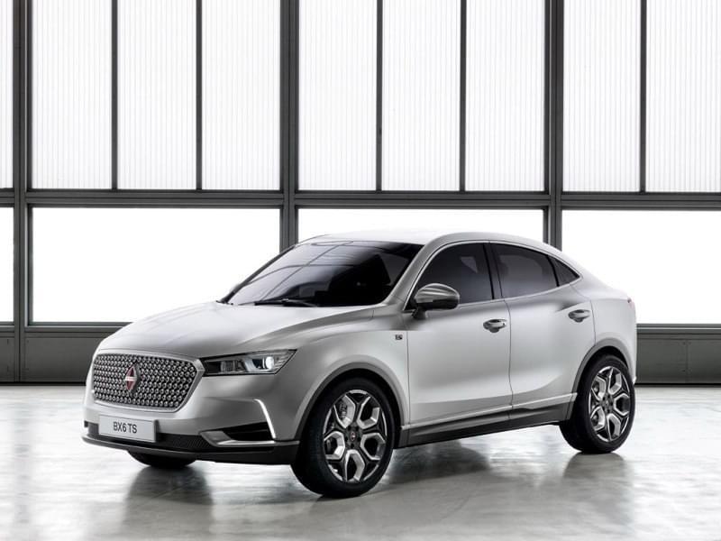 2016年日内瓦车展亮相的BX6 TS概念车