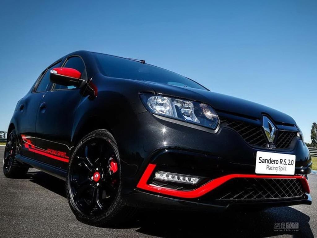 红黑色搭配 雷诺Sandero RS特别版官图