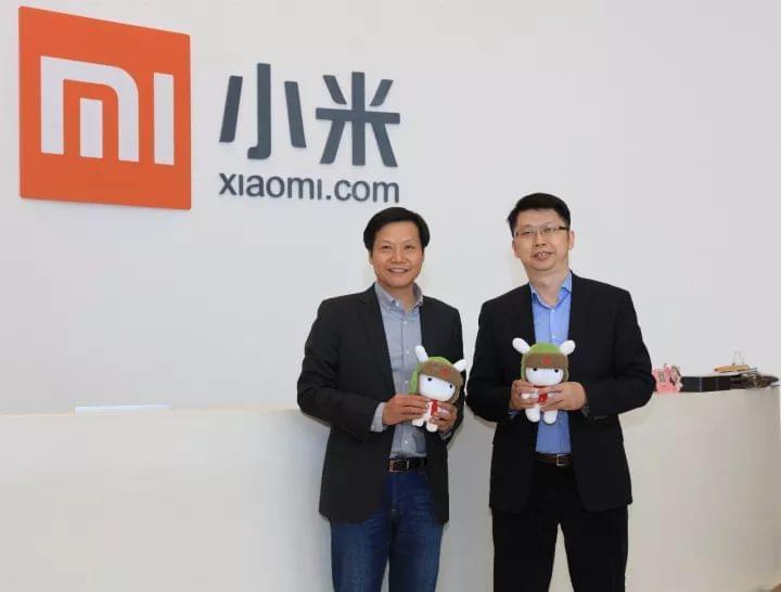 联发科前COO朱尚祖加盟小米 任产业投资部合伙人