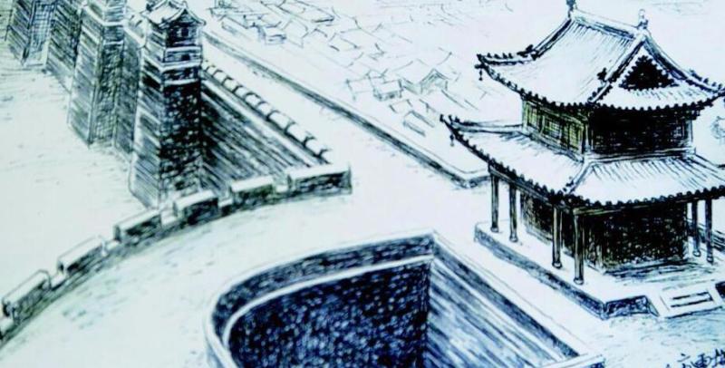 古县城手绘地图全面还原本土生活