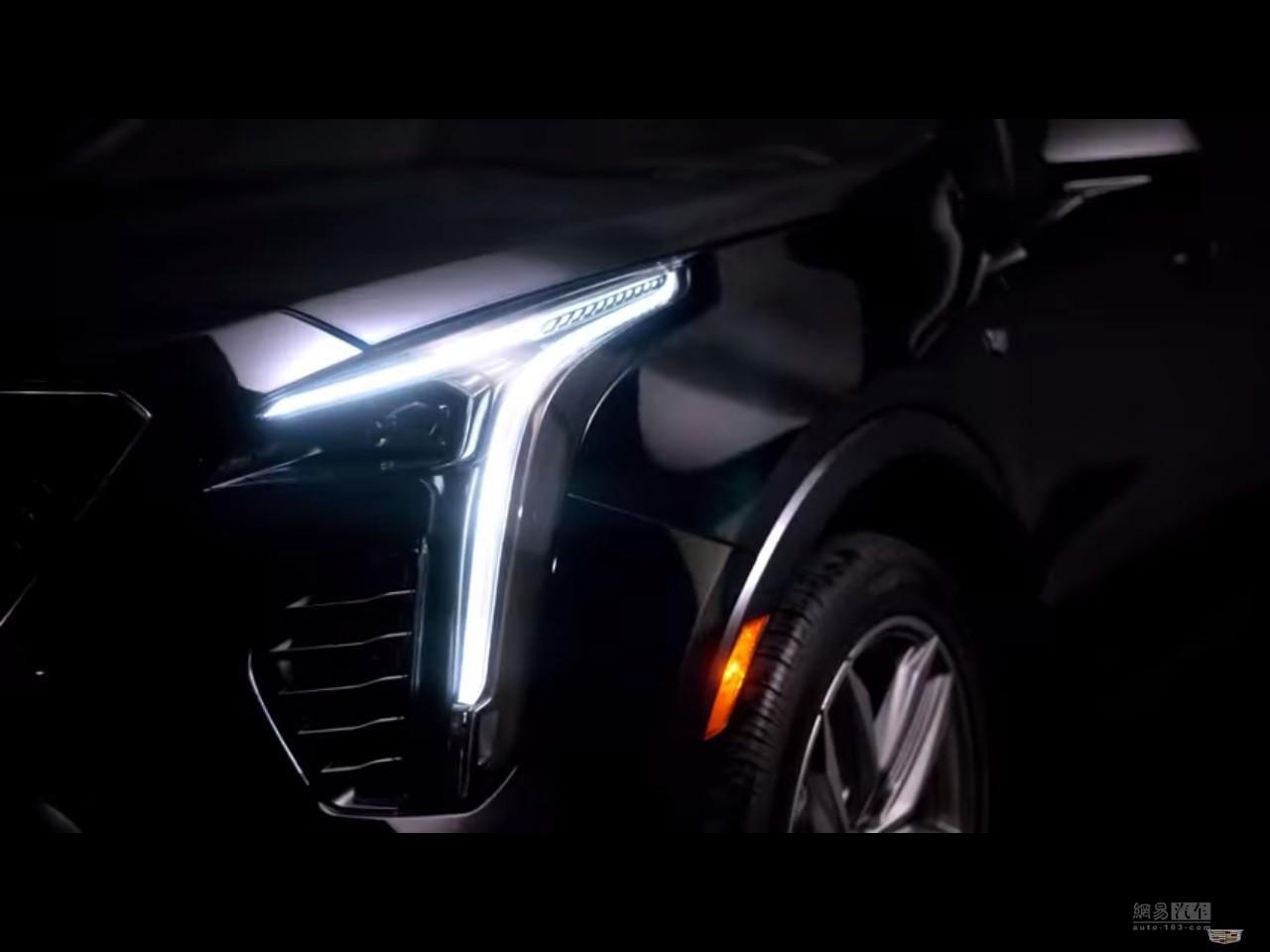 小号的XT5 凯迪拉克全新XT4将于秋季上市