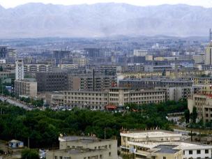 八十年代新疆 距海洋2500公里的乌市