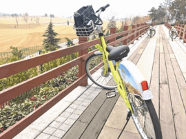共享自行车租赁模式现身青岛 1小时内免费