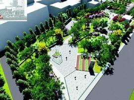 """万柏林区将再建成3个小游园 为""""绿肺""""添新笔"""
