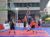 中国三对三篮球联赛2017赛季宁波赛区开打