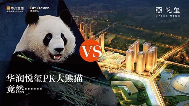 华润悦玺PK大熊猫,竟然……