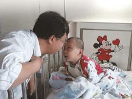 """父亲写88万字宝贝抗癌日记""""只要更新,就证明儿子还活着"""