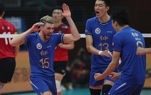 男排联赛上海力克北京夺三连冠