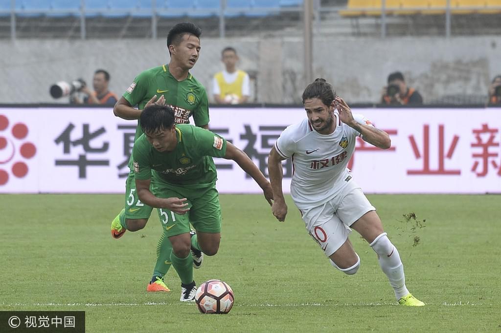 京津冀杯-王晓龙反戈帕托失点 权健3-1国安预备队