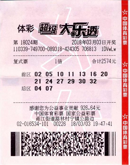 六人合伙凑2574元中头奖1000万 神奇彩站已先后3次击中头奖!