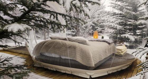 很浪漫!实拍全球特色冰雪酒店