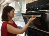 海尔云厨高端成套厨电再添新成员:世界首款蒸烤一体机