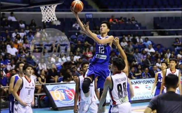 菲律宾14岁新星身高2米11 未来或是中国男篮对手