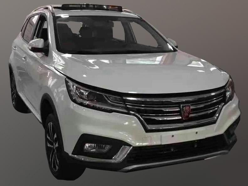定位紧凑级SUV 曝荣威RX3最新实车谍照