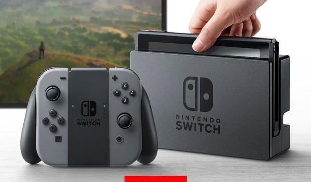 脑洞大开 任天堂新款游戏机Switch竟是2合1