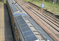 为减少污染 印度推出太阳能火车:画风太美