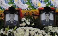 张浩王晓冬烈士追悼会举行